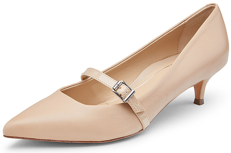 Minnie Leather Patent Nude
