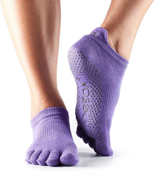 Grip Full Toe Low Rise Light Purple