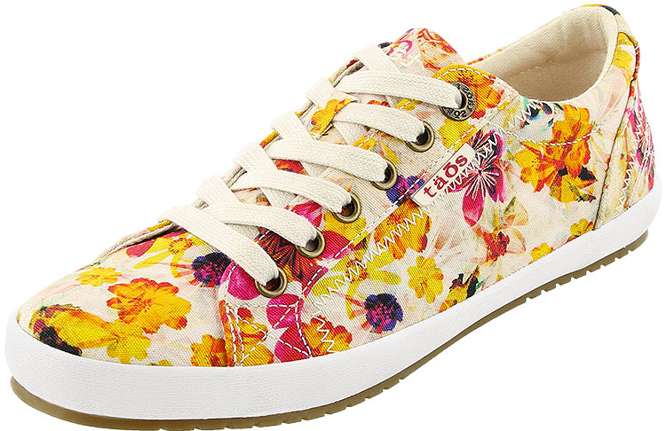 Star White Floral Multi