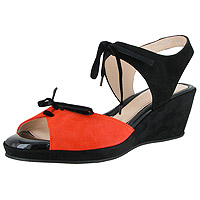 Lotty Orange Suede