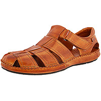 Men's Tarifa Closed Sandal 06J-5433 Brandy