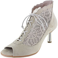 Thea Champagne Suede/French Lace