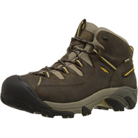 Men's Targhee II Mid WP Black Olv/Yllw