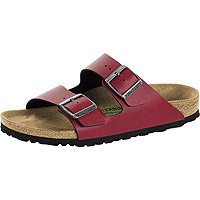 Arizona Vegan Bordeaux Pull Up Birko-Flor Narrow Width