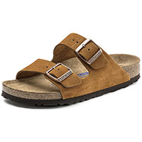 Arizona Soft Footbed Suede Mink Narrow Width