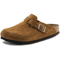 Boston Soft Footbed Mink Suede Regular Width