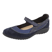 Polar Sea/Blue Velvet/Navy Patent