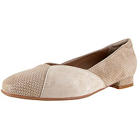 Saoirse Champagne Shiny Scale Print Suede