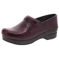 Embossed Pro Wine Burnished Calf
