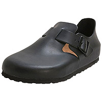 London Soft Footbed Hunter Black Leather Narrow Width