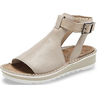 Verbena Beige Lizard Leather/Beige Nubuck