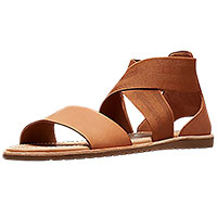 Ella Sandal Camel Brown