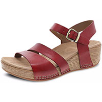 Lindsay Red Burnished Calf