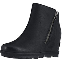 Joan Of Arctic Wedge II Zip Black