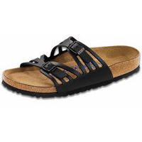 Granada Soft Footbed Black Oiled Leather Narrow Width