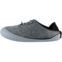 Fit Lace-Up Shoe Light Grey With Light Grey Removable Sole