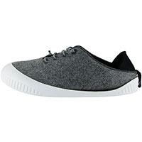Fit Lace-Up Shoe Light Grey With White Removable Sole