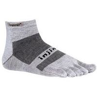 RUN 2.0 Lightweight Mini-Crew Gray