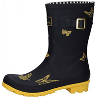 Molly Welly Black Butterfly