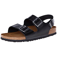 Milano Soft Footbed Leather Black Amalfi Regular Width