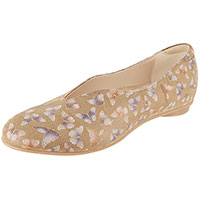 Jolie Biscotti Butterfly Print Suede