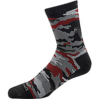 Kid's Camo Micro Crew Light Black