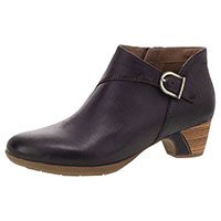 Darbie Fig Burnished Nubuck