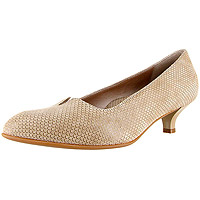 Mystique Champagne Shiny Scale Print Suede