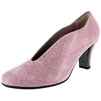 Calla Speckled Pink Suede