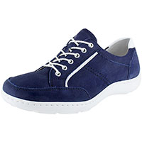 Navy Nubuck/White