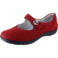 Julie Henni Red Nubuck