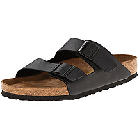 Arizona Soft Footbed Black Birko-Flor Regular Width