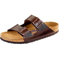 Arizona Soft Footbed Brown Amalfi Leather Regular Width