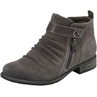 Buckeye Suede Charcoal Grey Multi