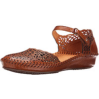 Puerto Vallarta Closed Toe Sandal 655-1532 Brandy