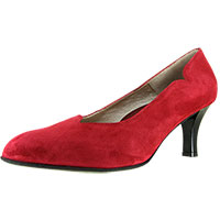 Passion Red Suede