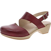 Kristy Red Burnished Calf