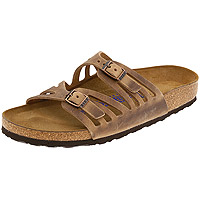 Granada Soft Footbed Tobacco Oiled Leather Regular Width