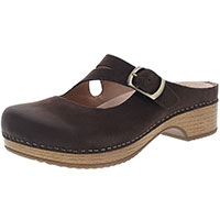 Britney Chocolate Burnished Nubuck