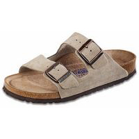 Arizona Soft Footbed Taupe Suede Narrow Width