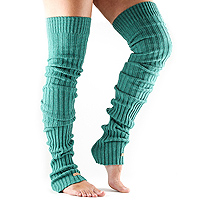 Leg Warmers Thigh High Forest