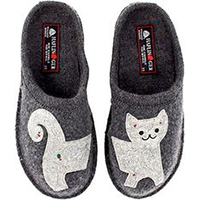 AR Lizzy Slipper Grey