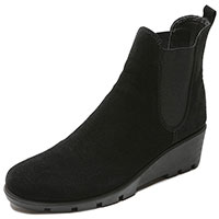 Slimmer Black Waterproof Suede