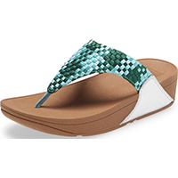 Lulu Silky Weave Toe-Post  Mint Green
