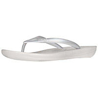 Iqushion Ergonomic Flip-flops Silver