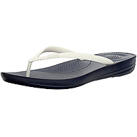 Iqushion Ergonomic Flip-flops Midnight Navy/White