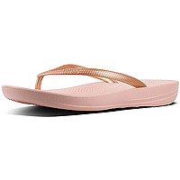 Iqushion Ergonomic Flip-Flops Nude/Rose Gold Mix