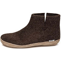 Low Boot Brown