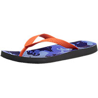 Men's Manly Blue Camo Orange