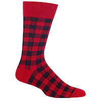 Men's Buffalo Check Red